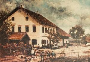 Der Wildpark in Straßlach bei München alt