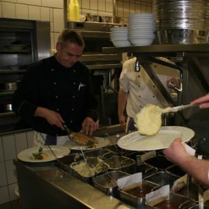 Unser Küchenchef bei der Arbeit