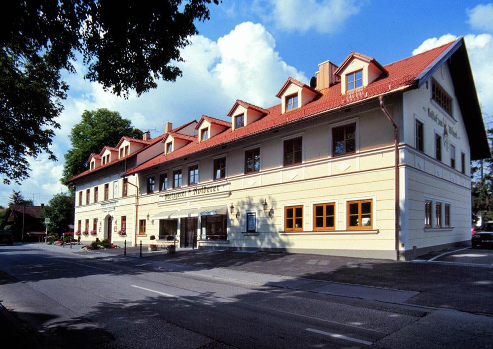 Der Gasthof zum Wildpark in Straßlach